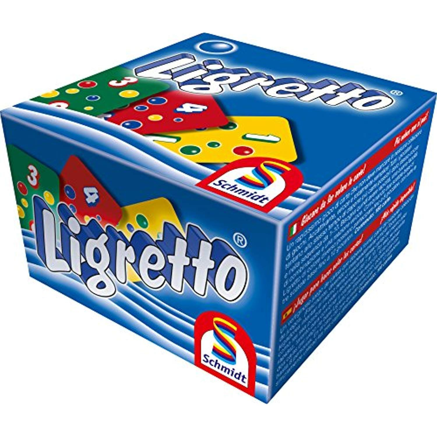 Ligretto Blue Fast Card Game by Schmidt For all the