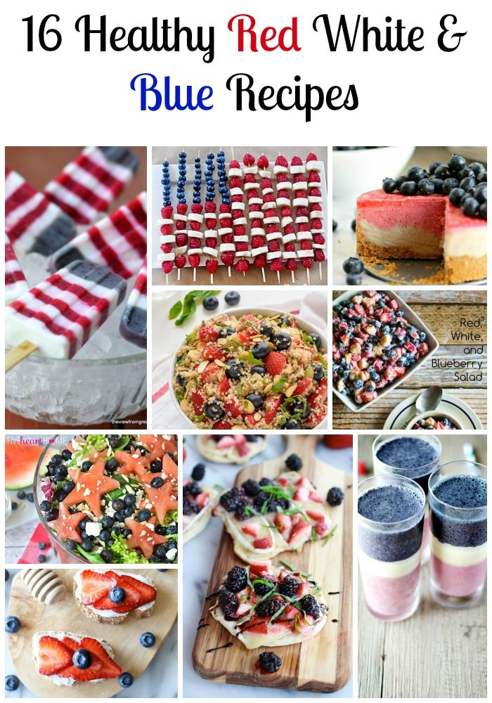 16 healthy red white and blue recipes for independence day low such cute and delicious ideas 16 healthy red white and blue recipes to celebrate july independence day low calorie low fat dinner recipes forumfinder Choice Image