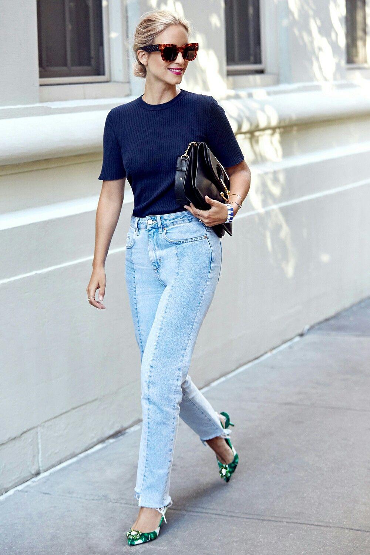 Pin By Allison Towbes On Wear Fashion Denim Fashion Bloglovin Fashion