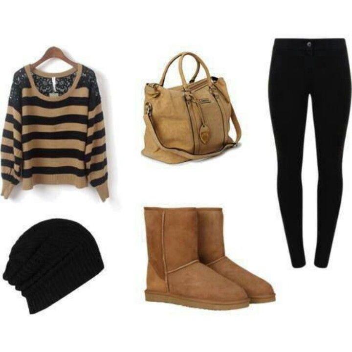 Tan and black:)