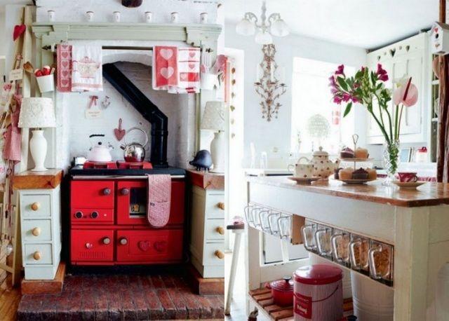 oberflächen mit kleinen kratzern-retro-möbel für küchen-design, Kuchen deko
