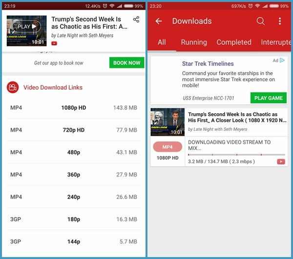 15 Best Youtube Video Downloader App For Android Free 2020 With