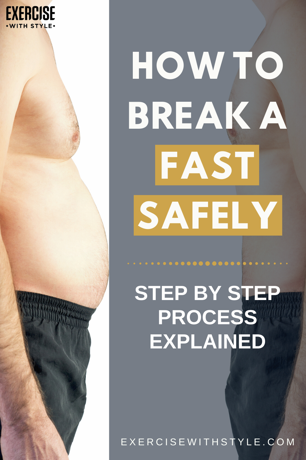 How To Break A Fast Safely