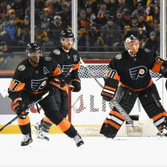 28895e221 Remember those black Stadium Series jerseys the Flyers wore against the  Penguins  Well ladies and