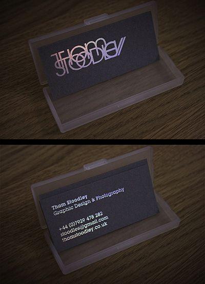 Oooh Shiny Business Card Design Creative Business Card Design Cool Business Cards