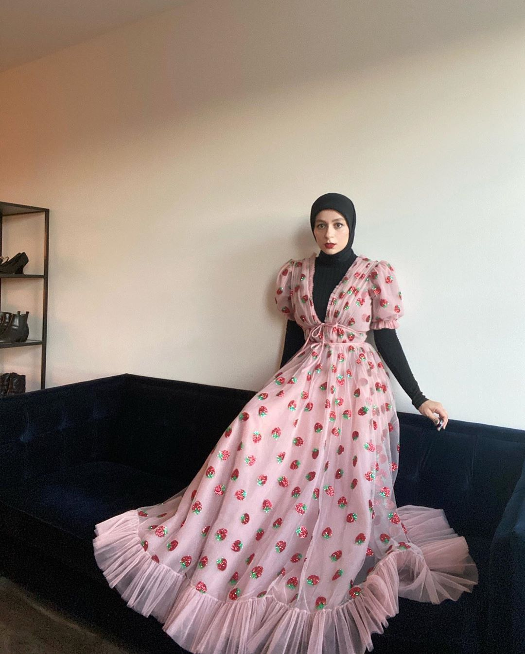 Noor On Instagram I Truly Did Not Want To Take This Dream Of A Dress Off Thank You Lirika Matoshi For Making This Incredib Strawberry Dress Fashion Dresses [ 1347 x 1080 Pixel ]
