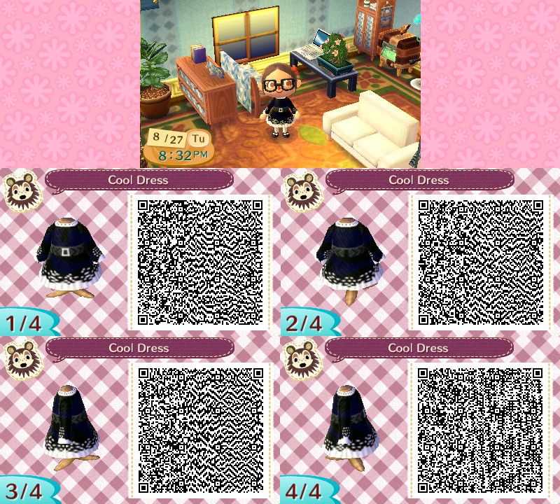New Leaf QR Codes So Far Does Not Work On ACNL Sew Machine Code Classy New Leaf Sewing Machine