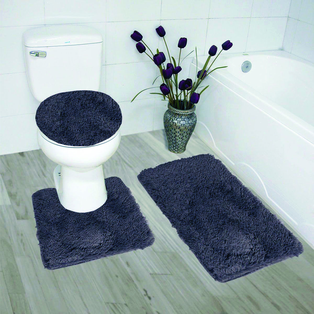 Sorts Of Washroom Rugs You Ought To Know Bathroom Rug Sets