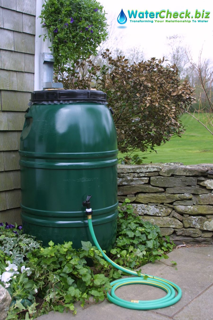 Water protection tip: Collecting rainwater in barrels provides access to a free water source that is naturally soft. By harvesting a steady supply of rainwater, you can protect our natural resources. #waterproducts #waterprotection