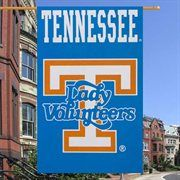 "Tennessee Lady Vols 28"" x 44"" Light Blue Applique Vertical Banner Flag"