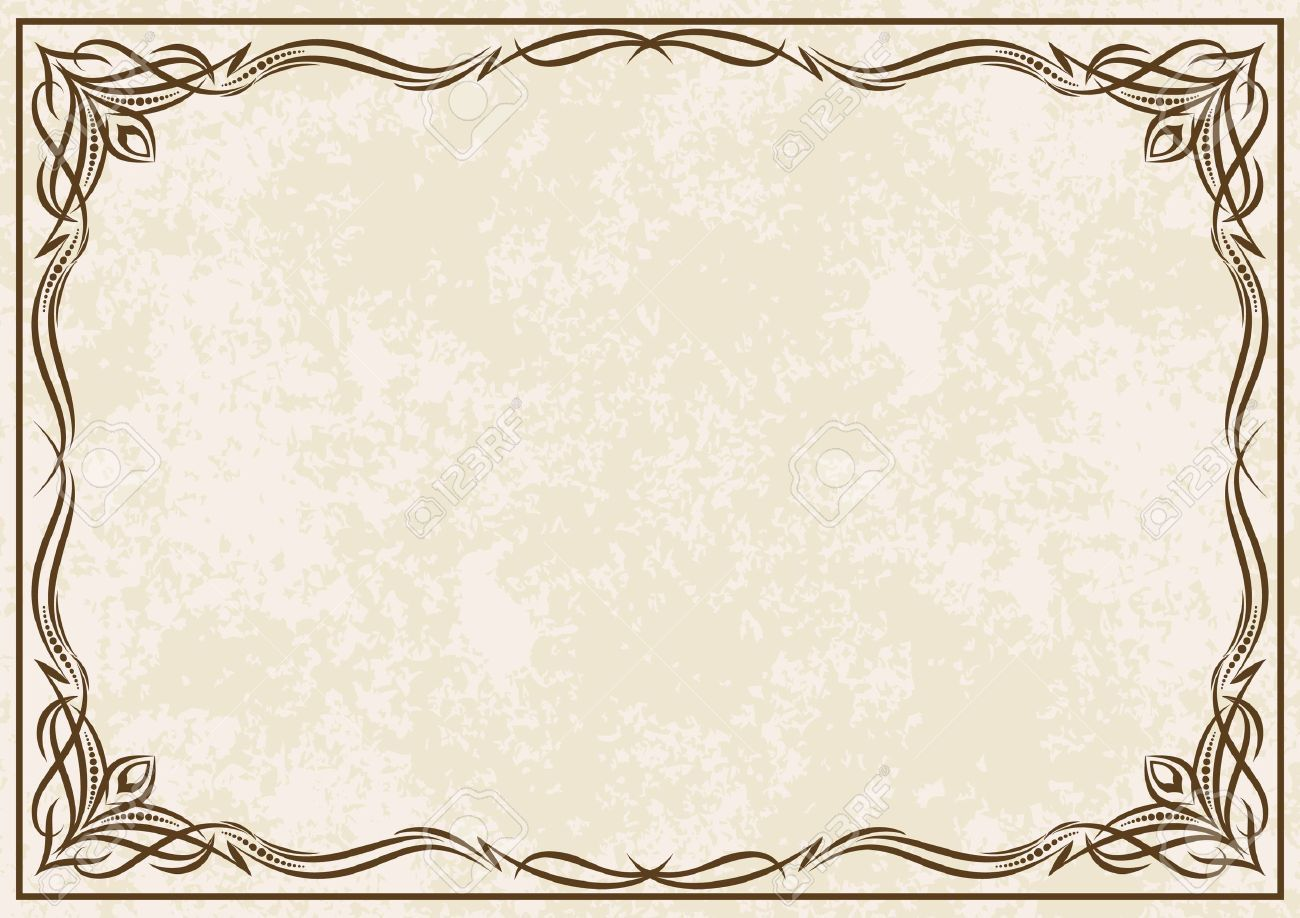 Elegant Vintage Background In 2020 Background Vintage Graphic Design Portfolio Print Vector Background