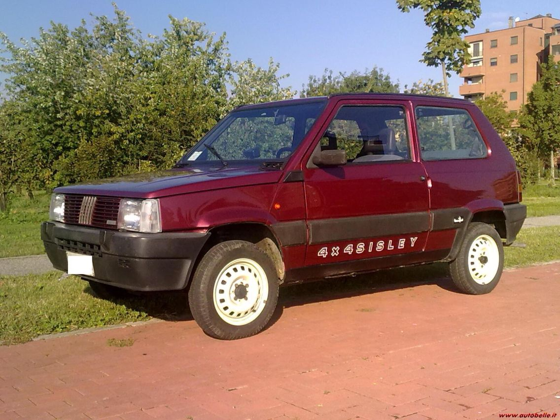 Fiat panda 4x4 sisley in his day was a great car able for Panda 4x4 sisley off road