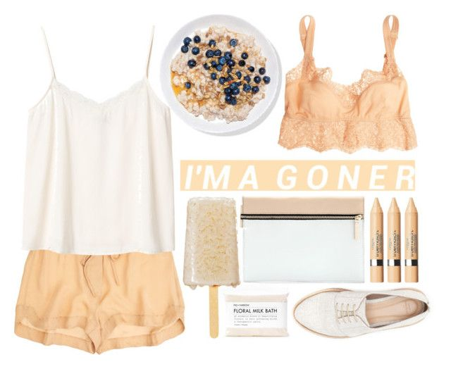 """""""Peaches and Cream"""" by ocenia ❤ liked on Polyvore featuring Fig+Yarrow, Zara, A.L.C., Dolce&Gabbana, Monki, Victoria Beckham and L'Oréal Paris"""
