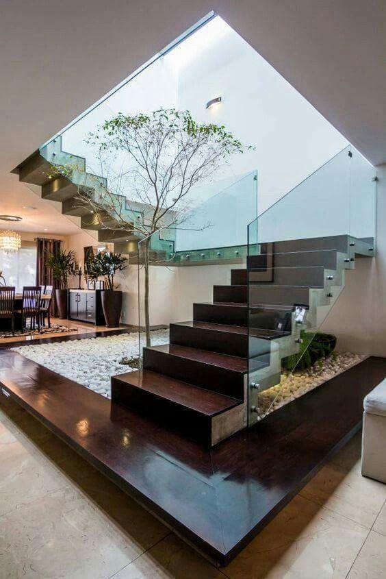 escalera #jardinera Stair Pinterest Jardineras, Escalera y Piedras - decoracion de escaleras