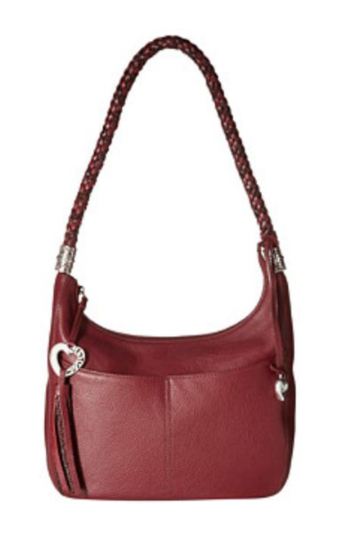 c42b3b080a Brighton Barbados Ziptop Hobo Style # H204 The classic simplicity draws  your eyes to this hobo