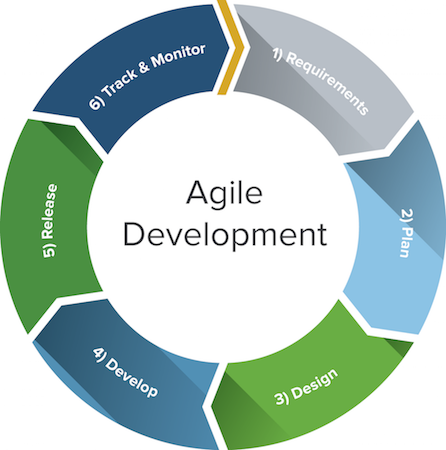 agile methodology for web applications