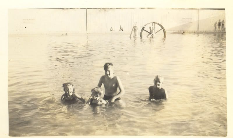 Terrell Wells swimming pool, San Antonio. Sulphur springs fed this ...