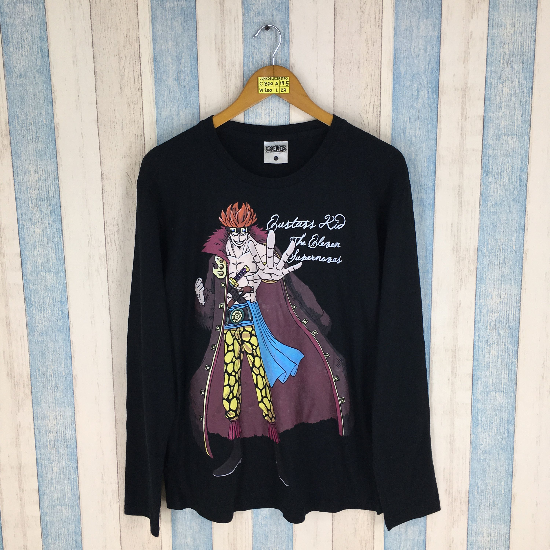 Monkey D Luffy Retro Japanese One Piece Kids T-Shirt