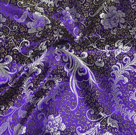 European Brocade Cloth Cover Rose Design Wedding Memory Scrapbook Photo Album