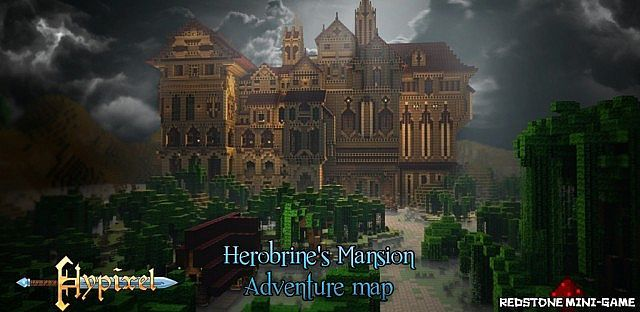 Herobrines Mansion Adventure Map Minecraft Adventure Maps - Adventure maps fur minecraft