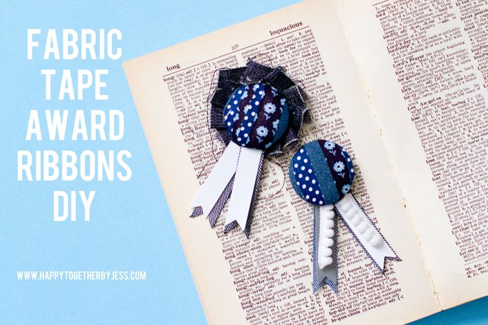 Fabric Tape Award Ribbons by Happy Together