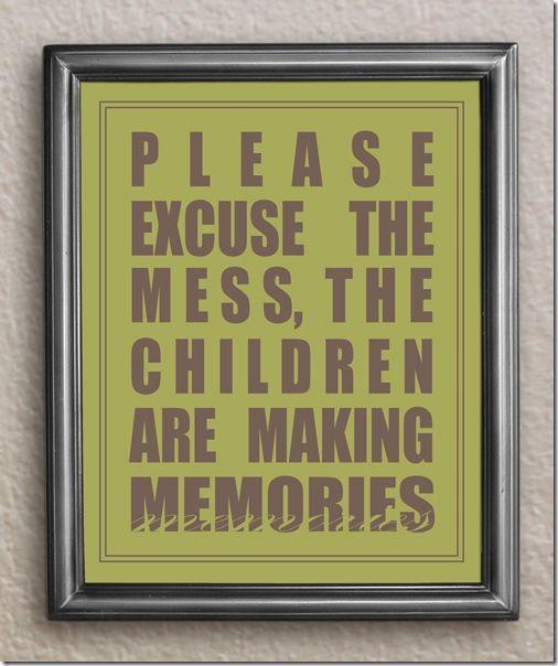 Kids making memories