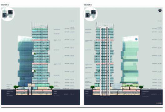 CDB Tower & Minsheng Financial Tower Competition Proposal / Saraiva + Associados,sections