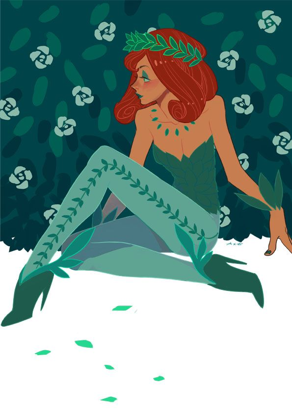 Poison Ivy by Axeeeee *