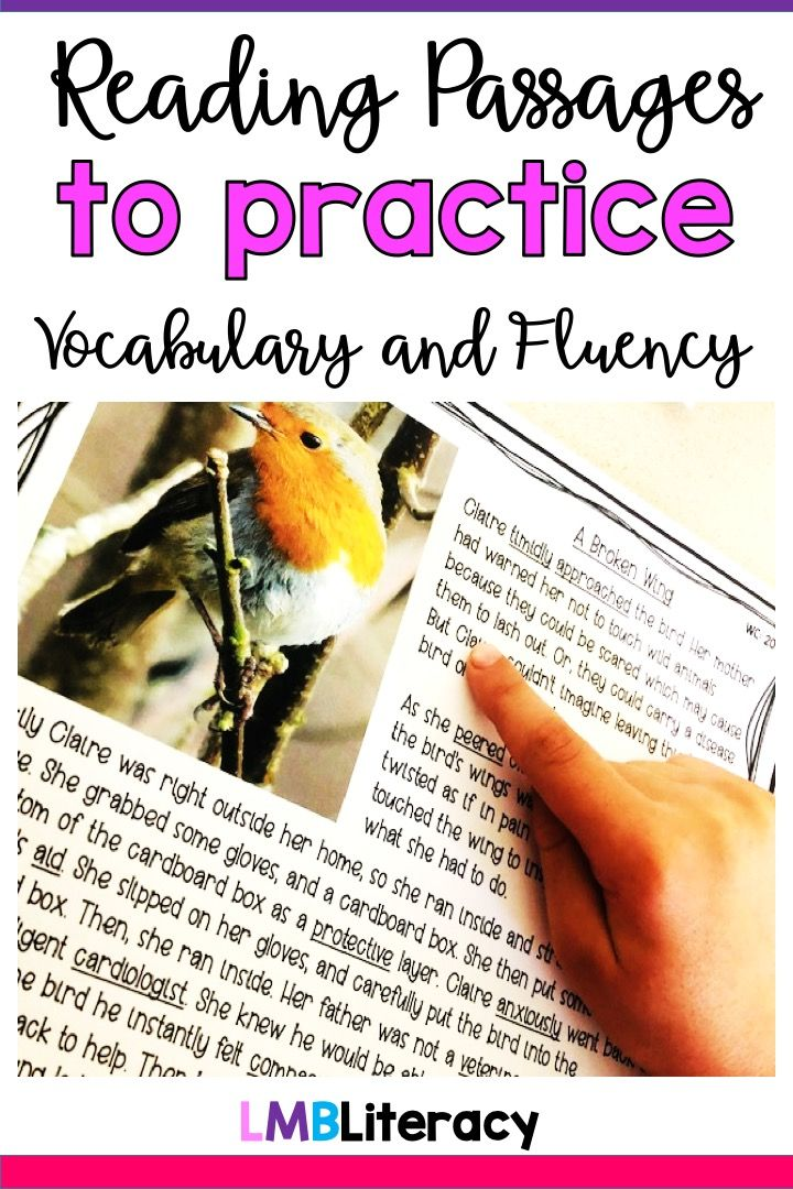 Vocabulary in Context Passages, Fiction and Nonfiction