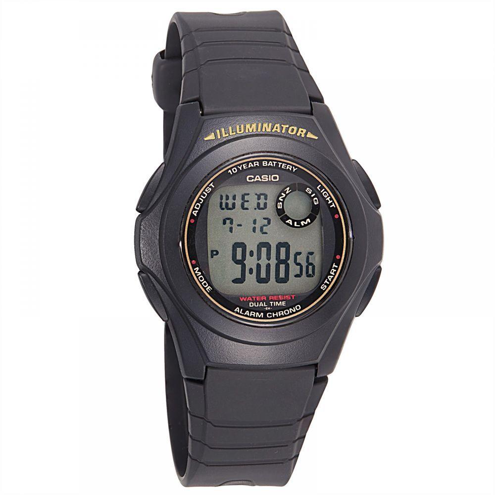 ساعة كاسيو للرجال F 200w 9a رقمي كاجوال Casio Watch Casio Watches