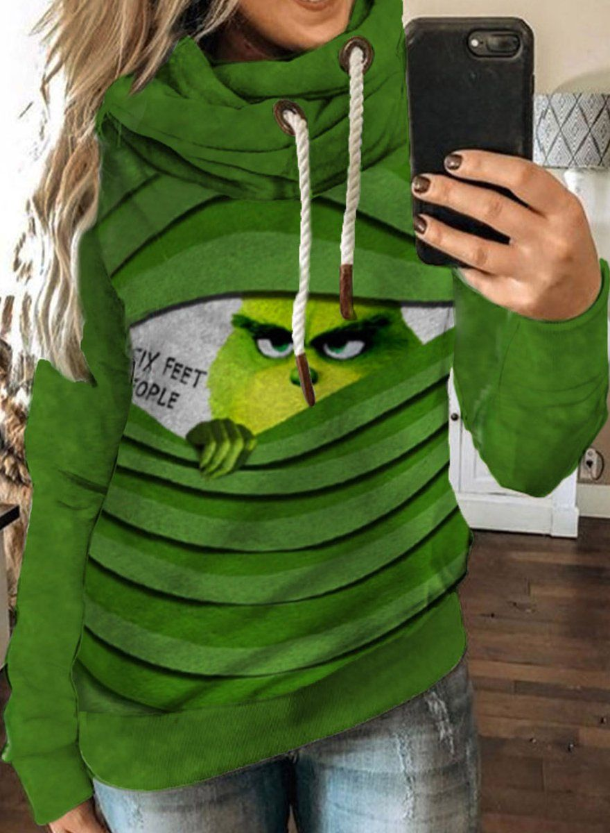 Women's Hoodies Festival Casual Solid Hooded