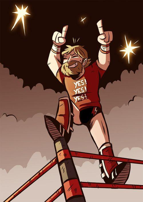 daniel bryan | dibujos | Pinterest | WWE, Lucha libre y Deporte