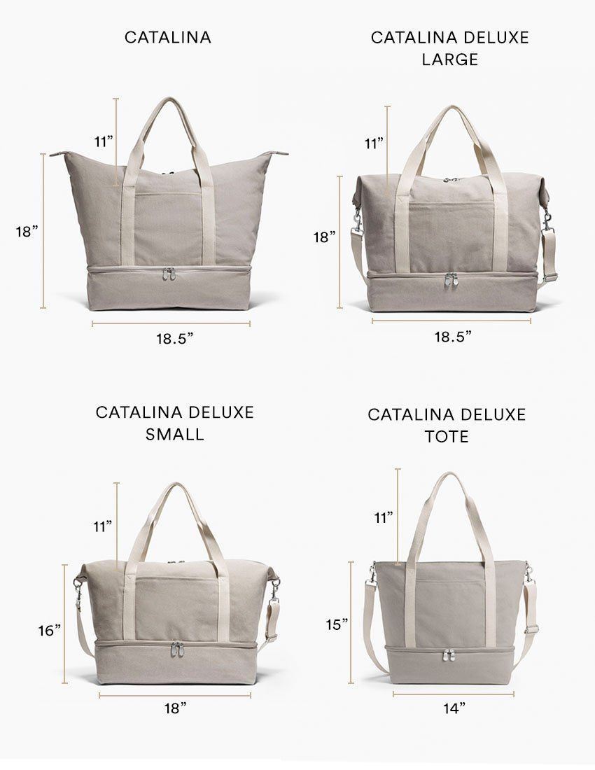 1fc0af87df7 The catalina deluxe washed canvas dove grey small – Artofit