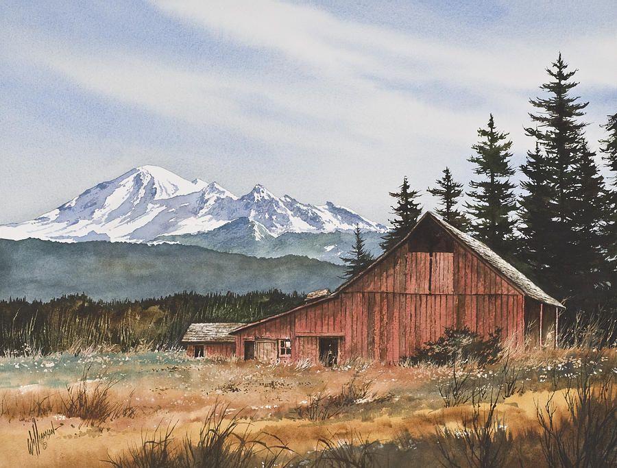 Pacific Northwest Landscape Pacific Northwest