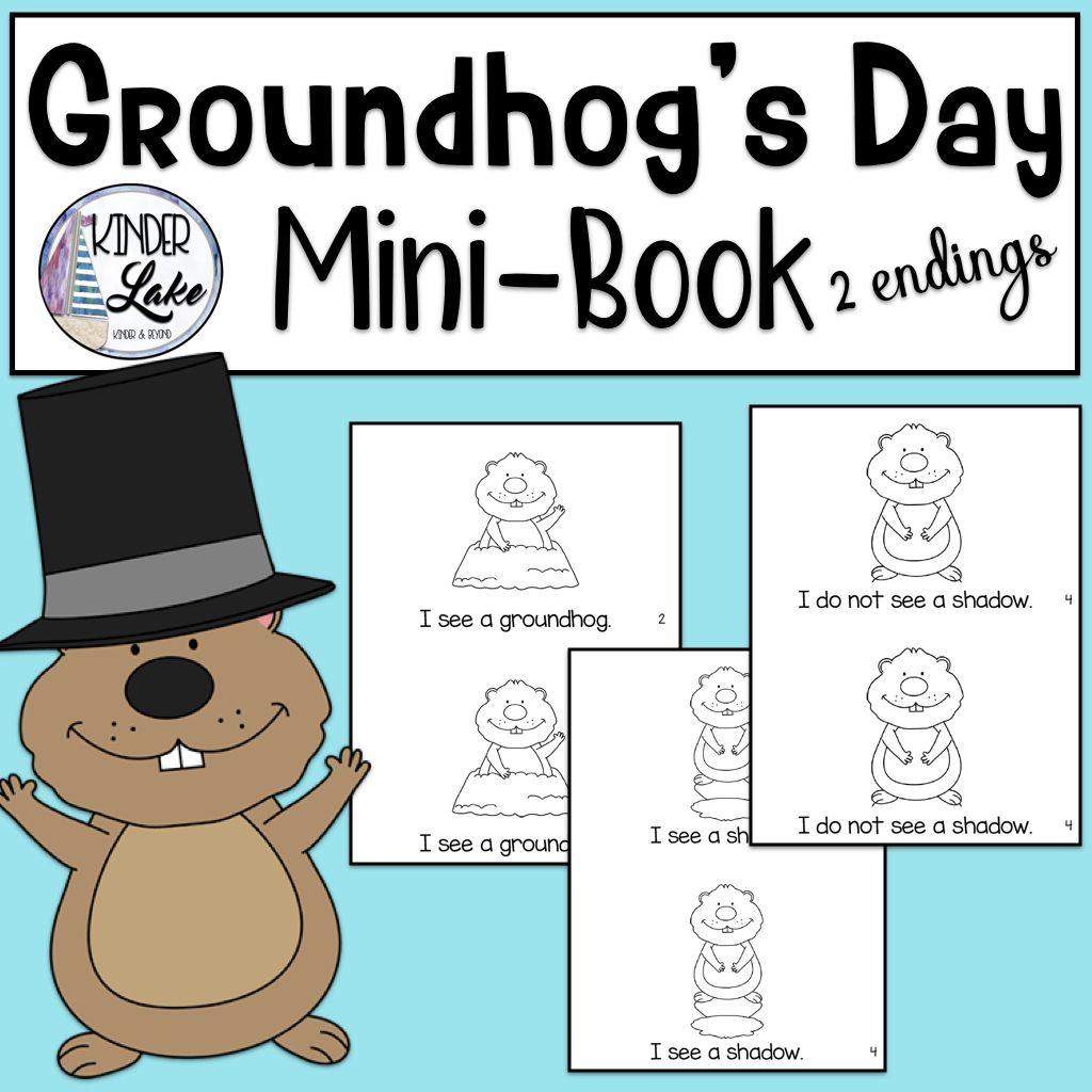 Groundhog S Day Mini Book