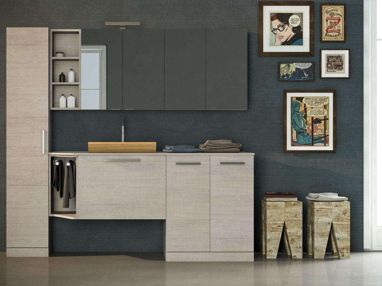 Mobile Bagno Con Colonna Lavatrice mobile colonna lavatrice asciugatrice ikea con mobile per