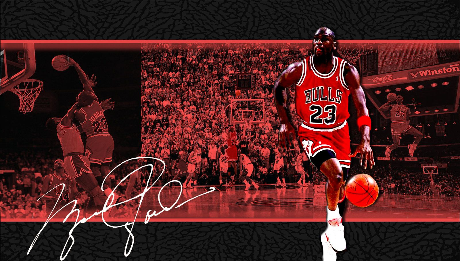 Michael Jordan Cool wallpaper with signature Michael