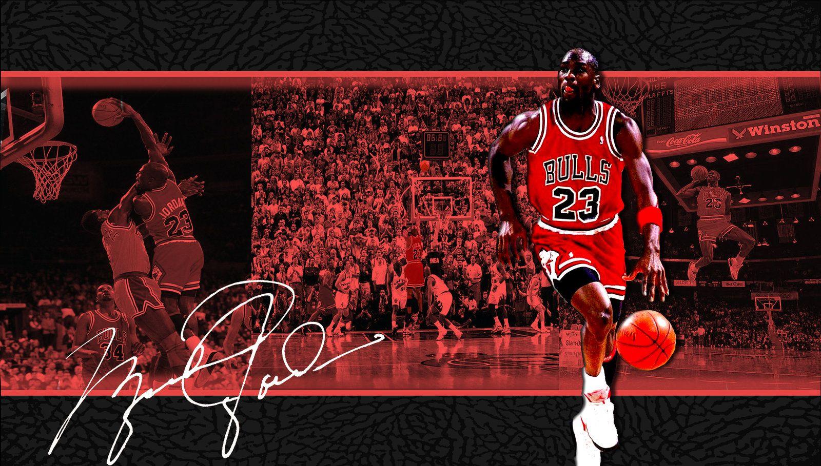 Michael Jordan Cool wallpaper with signature Michael