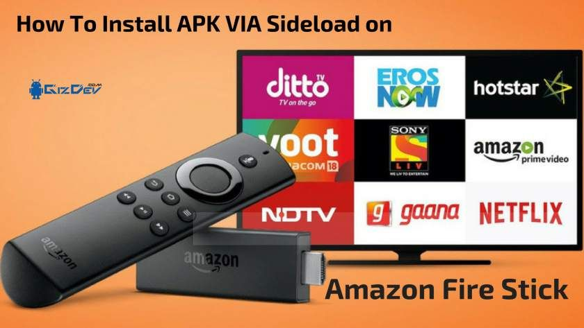How To Install Apk On Amazon Fire Stick Via Sideload In Recent Days With The With Chromecast Amazon Fire Amazon Fire Stick Amazon Fire Tv Stick Fire Tv Stick