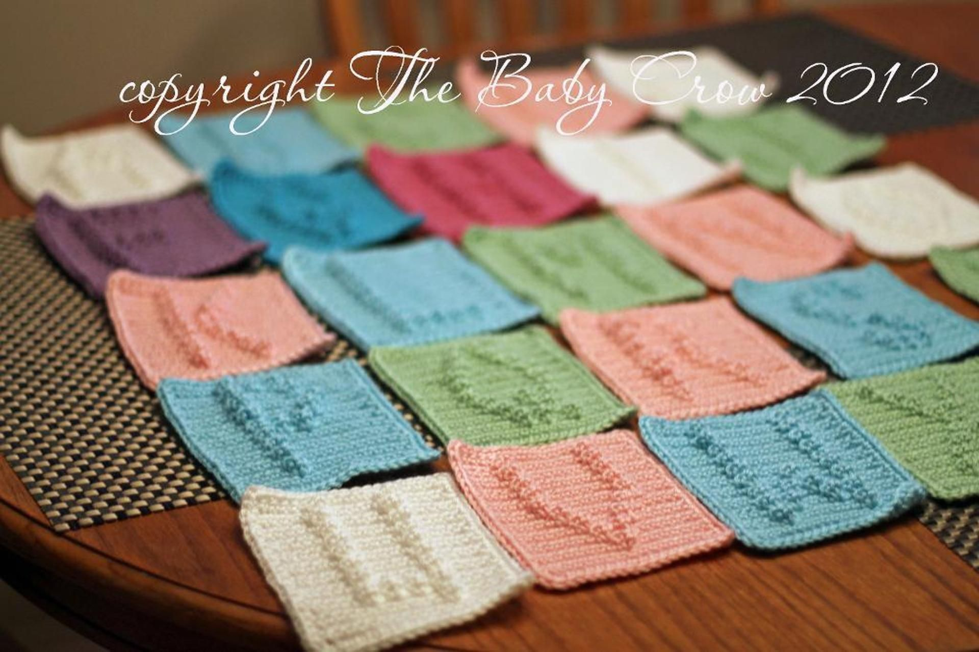 Alphabet Letters from A to Z | Craftsy | hækling | Pinterest ...