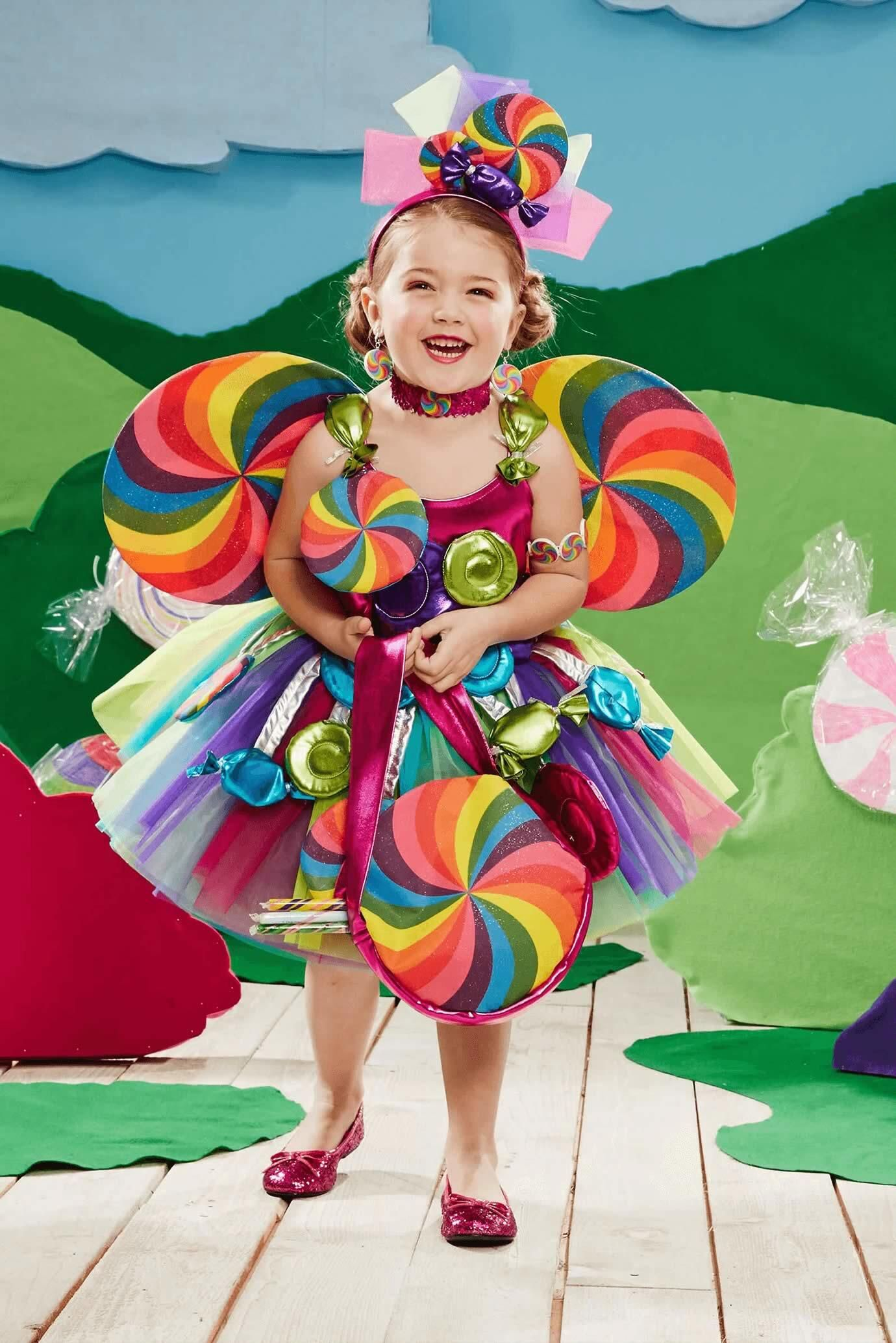 Candy Fairy Costume for Girls  sc 1 st  Pinterest & Candy Fairy Costume for Girls   Chasing fireflies Fairy and Costumes