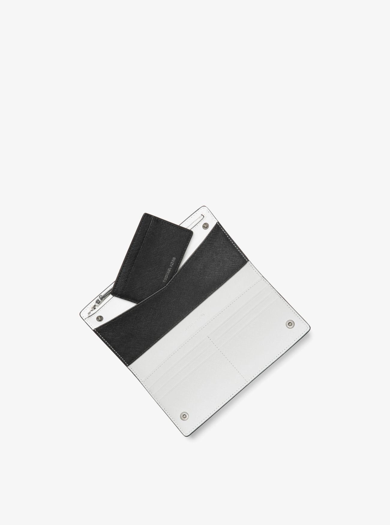 2b7ae43c45eb Jet Set Saffiano Leather Slim Wallet