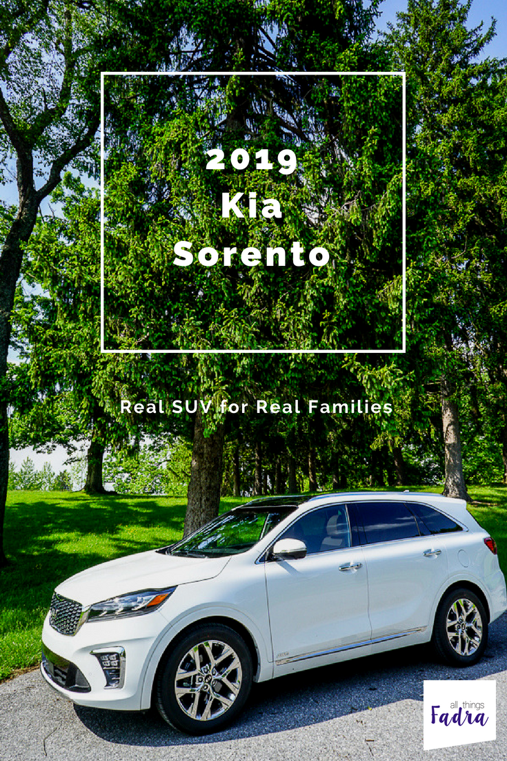 2019 Kia Sorento Family SUV Review Kia sorento, Suv