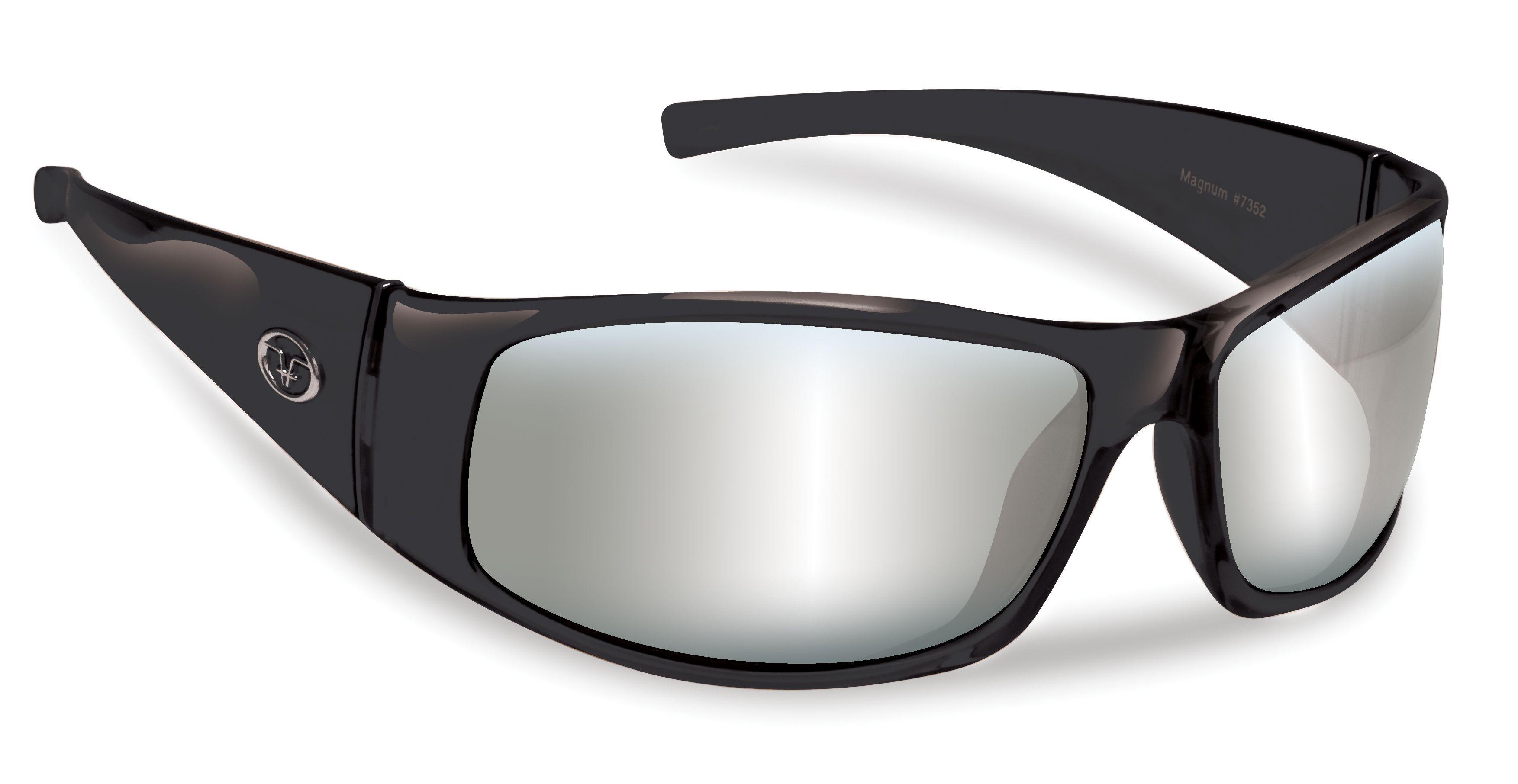 e6e511be9d Flying Fisherman Magnum Black Smoke Silver Mirror Lens 7352BSS