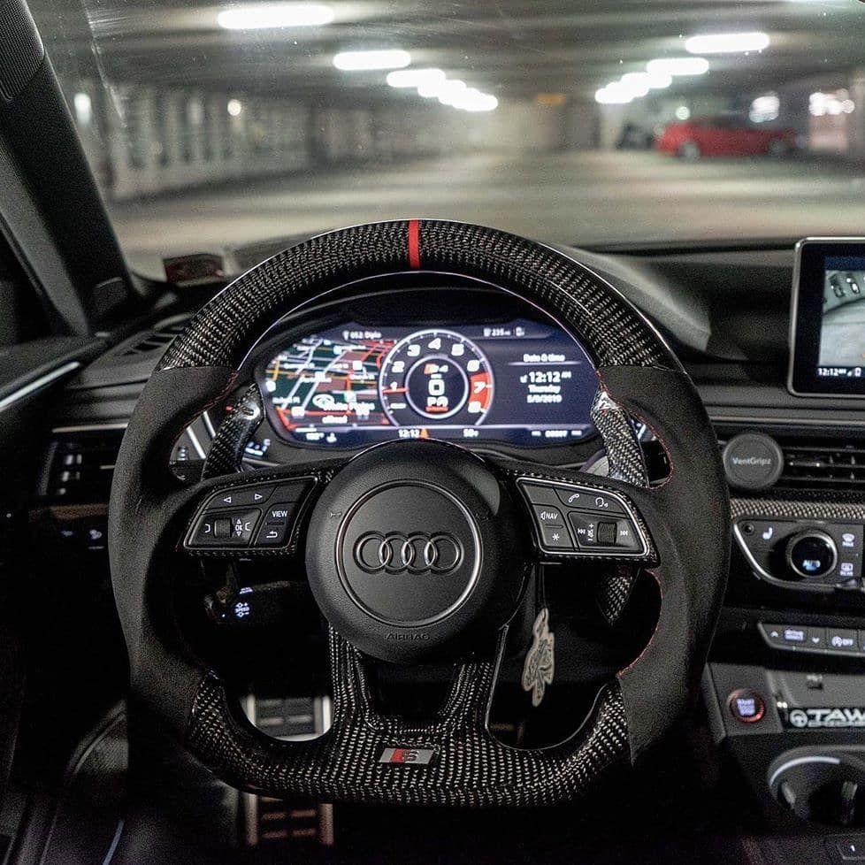 Audilooo Ver Di Instagram Insane Carbon Steering Wheel Rate This Audi From 1 10 Get 10 Off Audi Tuning Parts Bk Motorsport With Code Di 2020 Mobil Sport Mobil