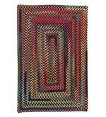 Bear Creek Rectangular Braided Wool Blend Rug, 8' x 11'