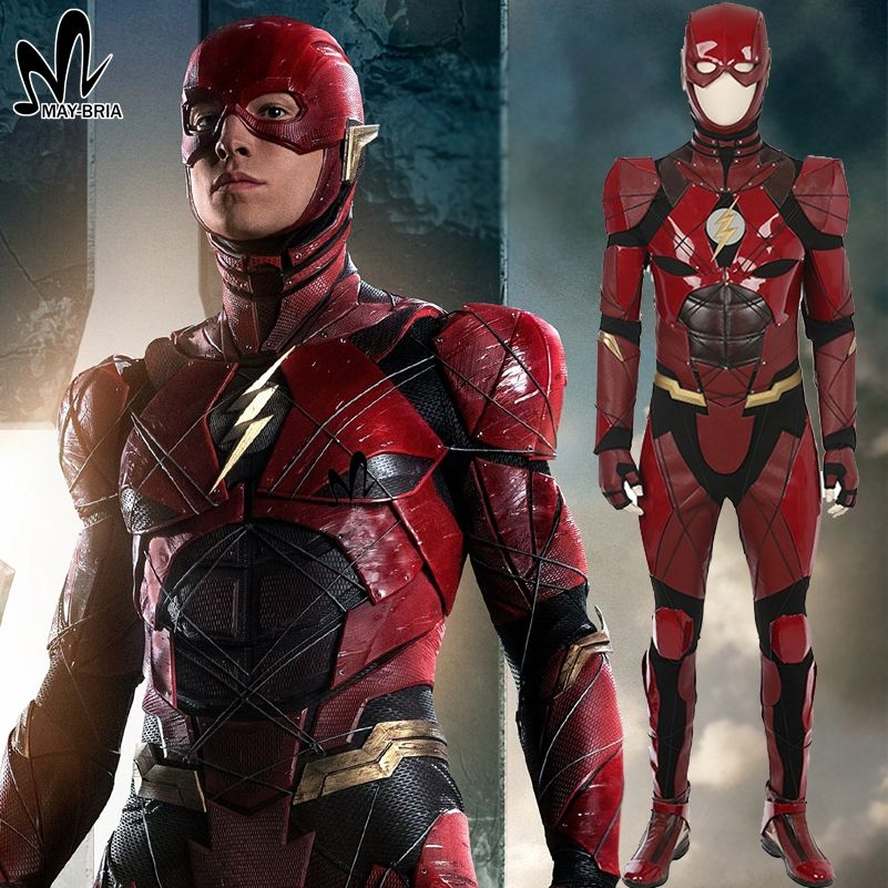 The flash adult costume custom think, that