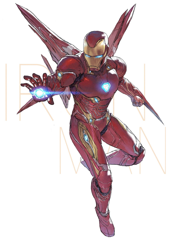 Artstation Iron Man Devon Pan Iron Man Avengers Marvel Iron Man Iron Man Art