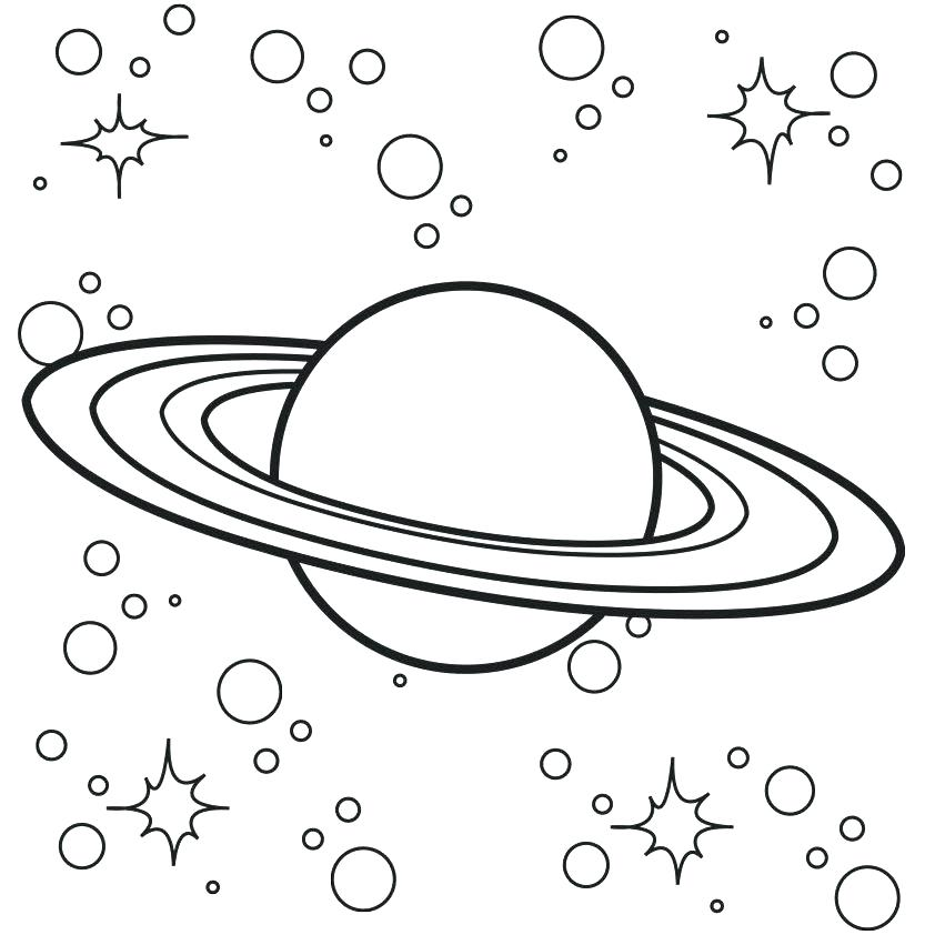 Universe Coloring Pages