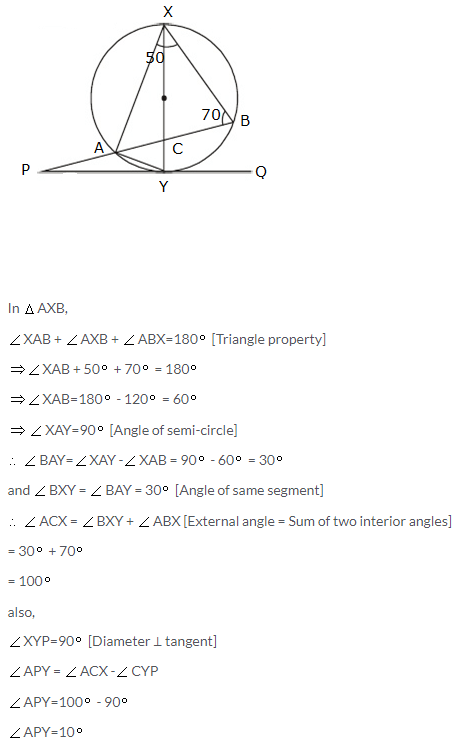 Selina Icse Solutions For Class 10 Maths Tangents And Intersecting